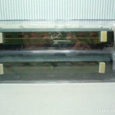 Trenes Escala: SET DE 2 COCHES BUTACAS RENFE ELECTROTREN DESCATALOGADAS DIFÍCILES DE CONSEGUIR. Lote 199245051