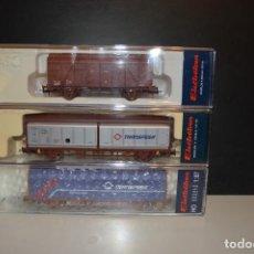 Trenes Escala: PACK VAGONES CERRADOS ELECTROTREN. Lote 199245690
