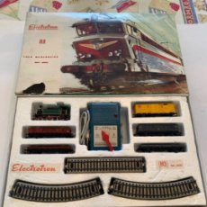 Trenes Escala: ELECTROTREN. HO. CAJA COMPLETA 3002 AÑO 78. Lote 200881222