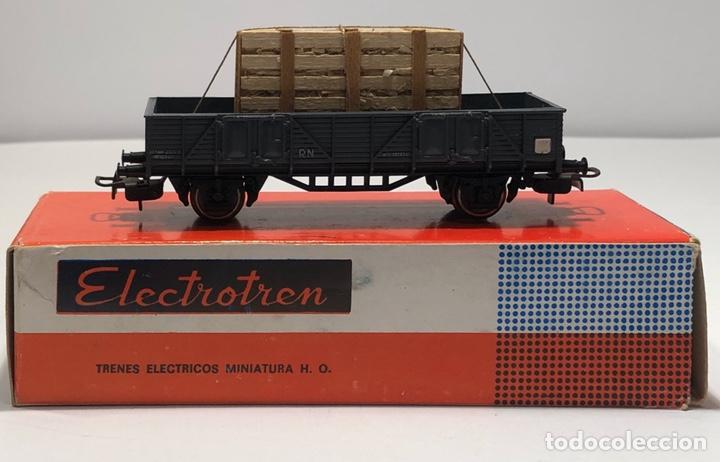 ELECTROTREN H0 1107 - BORDES BAJOS CON CAJA CRISTALES RENFE (Juguetes - Trenes Escala H0 - Electrotren)