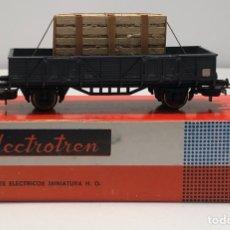 Trenes Escala: ELECTROTREN H0 1107 - BORDES BAJOS CON CAJA CRISTALES RENFE. Lote 201157211