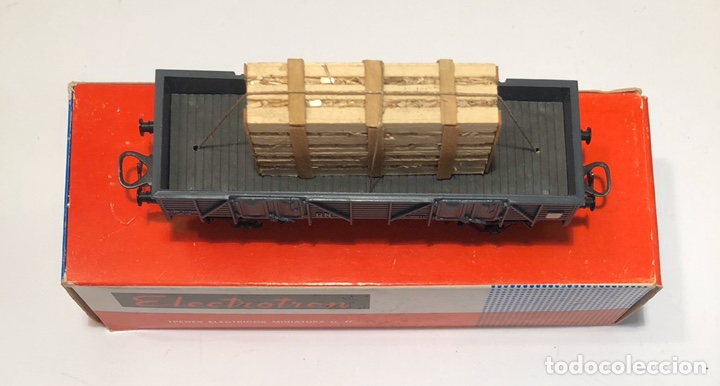 Trenes Escala: ELECTROTREN H0 1107 - BORDES BAJOS CON CAJA CRISTALES RENFE - Foto 5 - 201157211