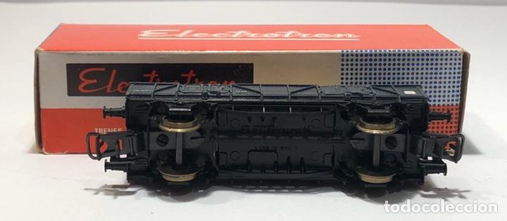 Trenes Escala: ELECTROTREN H0 1107 - BORDES BAJOS CON CAJA CRISTALES RENFE - Foto 6 - 201157211