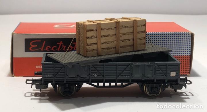 Trenes Escala: ELECTROTREN H0 1107 - BORDES BAJOS CON CAJA CRISTALES RENFE - Foto 7 - 201157211