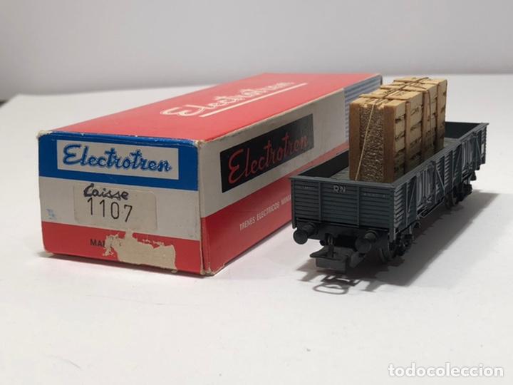 Trenes Escala: ELECTROTREN H0 1107 - BORDES BAJOS CON CAJA CRISTALES RENFE - Foto 2 - 201157211