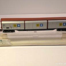 Trenes Escala: ELECTROTREN H0 5511 - VAGÓN 6 PAREDES CORREDIZAS 'OPEL-GM' DB. Lote 202095846
