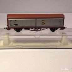 Trenes Escala: ELECTROTREN H0 1485B - VAGÓN 4 PAREDES MÓVILES 150 JAHRE DEUTSOHE EISENBAHNEN DB. Lote 202097758