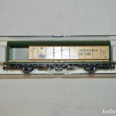Trenes Escala: VAGÓN MERCANCÍAS CERRADO DE LA DB GONZÁLEZ. 30 ANIVERSARIO. ESC. H0. ELECTROTREN. ROMANJUGUETESYMAS.. Lote 202543902