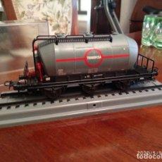 Trenes Escala: VAGON CUBA - TRANSFESA - ELECTROTREN - 14 CM. LARGO, 4,7 ALTO Y 3 ANCHO APROX.- RENFE - NUEVO -. Lote 204834981