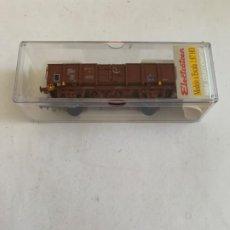 Trenes Escala: ELECTROTREN. HO. REF 1256 VAGON. Lote 205528252