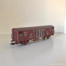 Trenes Escala: VAGÓN CERRADO TRANSFESA GBS. Lote 205912380