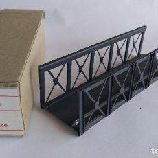 Trenes Escala: ELECTROTREN H0 REF 300 PUENTE METÁLICO, EN CAJA. VÁLIDO MARKLIN,ROCO,IBERTREN,ETC. Lote 206451173