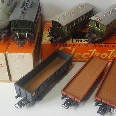 Trenes Escala: LOTE ELECTROTREN MARKLIN. Lote 206541180