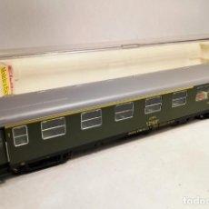 Trenes Escala: ELECTROTREN 5025K ESCALA H0. COCHE 1ª CLASE - CAFETERIA RENFE. AAR 5028. CON LUZ. Lote 206855687