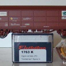 Trenes Escala: ELECTROTREN VAGON JPD RENFE CANTABRIASIL REF: 1763 ESCALA HO. Lote 208808926