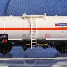 Trenes Escala: ELECTROTREN 5816. VAGÓN CISTERNA TRANSFESA. Lote 209187185