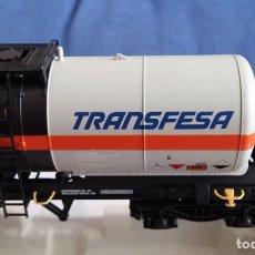 Trenes Escala: ELECTROTREN 5837. VAGÓN CISTERNA TRANSFESA. Lote 209870458