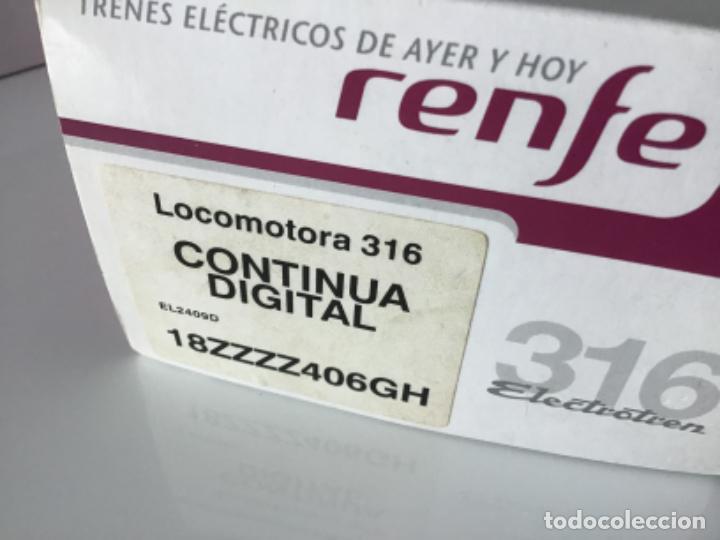 Trenes Escala: H0 Locomotora Electrotren Digital Renfe 316. Preciosa. - Foto 16 - 210148646
