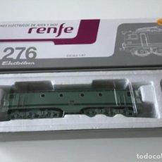 Trenes Escala: LOCOMOTORA H0 ELECTROTREN RENFE 276 DIGITAL. PRECIOSA.. Lote 210148920