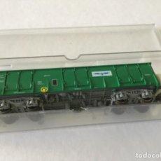 Trenes Escala: H0 ROCO VAGÓN BORDE ALTO ABIERTO TORRAS PAPEL. REF 5363K. ÚNICO Y DE VITRINA.. Lote 210245856