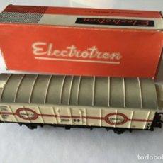 Trenes Escala: HO ELECTROTREN ANTIGUO TRANSFESA FRIGORÍFICO. BUEN ESTADO. Lote 210249726