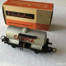 Trenes Escala: H0 ELECTROTREN CAMPSA. VAGÓN MUY ANTIGUO, AÑOS 50-60 EN MUY BUEN ESTADO.. Lote 210249856