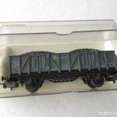 Trenes Escala: ELECTROTREN H0 VAGÓN CARBÓN RENFE REF 1202. MUY BUEN ESTADO.. Lote 210485048