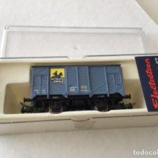 Trenes Escala: ELECTROTREN H0. VAGÓN NITRATO DE CHILE. REF. 1959. SIN ESTRENAR.. Lote 210485980
