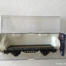 Trenes Escala: ELECTROTREN H0. VAGÓN PLATAFORMA RENFE. REF. 1024. NUEVO. Lote 210490445