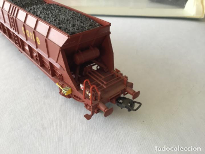 Trenes Escala: Electrotren H0. Vagón tolva carbón CARFE. 4 ejes. Precioso, nuevo. - Foto 2 - 210490735