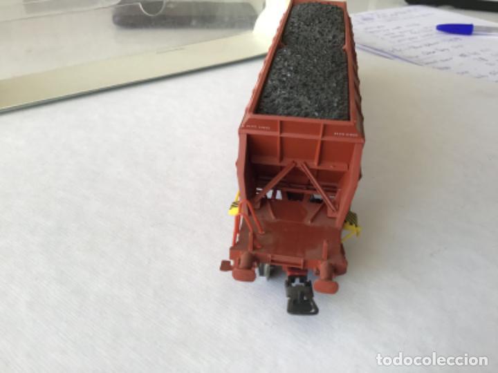 Trenes Escala: Electrotren H0. Vagón tolva carbón CARFE. 4 ejes. Precioso, nuevo. - Foto 3 - 210490735