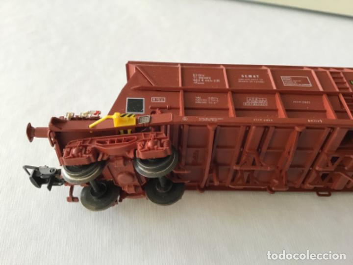 Trenes Escala: Electrotren H0. Vagón tolva carbón CARFE. 4 ejes. Precioso, nuevo. - Foto 6 - 210490735