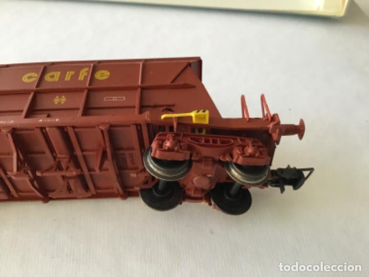 Trenes Escala: Electrotren H0. Vagón tolva carbón CARFE. 4 ejes. Precioso, nuevo. - Foto 8 - 210490735
