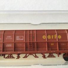 Trenes Escala: ELECTROTREN H0. VAGÓN TOLVA CARBÓN CARFE. 4 EJES. PRECIOSO, NUEVO.. Lote 210490735