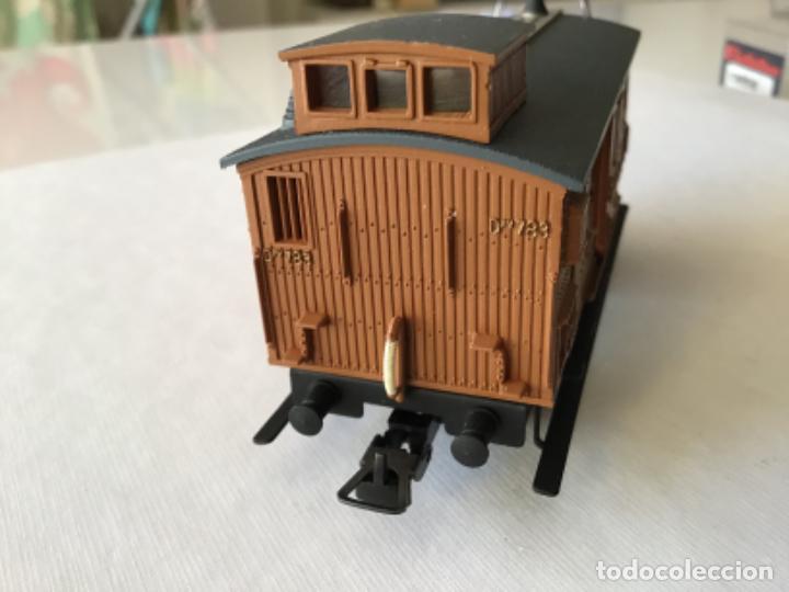 Trenes Escala: Electrotren H0 Vagón madera equipajes ref 0856. De vitrina. - Foto 6 - 210517647