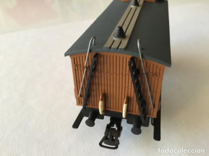 Trenes Escala: Electrotren H0 Vagón madera equipajes ref 0856. De vitrina. - Foto 8 - 210517647