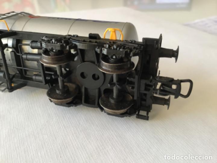 Trenes Escala: Electrotren H0. Vagón cisterna Transfesa. Nuevo - Foto 3 - 210517795