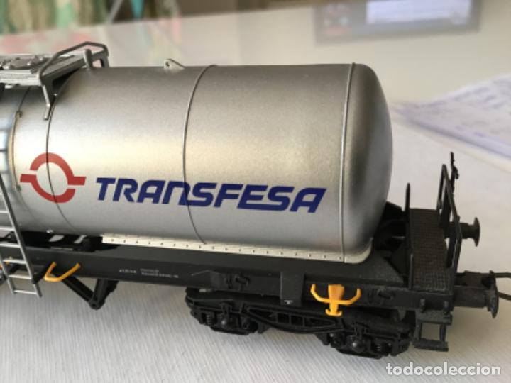 Trenes Escala: Electrotren H0. Vagón cisterna Transfesa. Nuevo - Foto 5 - 210517795