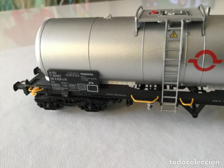 Trenes Escala: Electrotren H0. Vagón cisterna Transfesa. Nuevo - Foto 6 - 210517795
