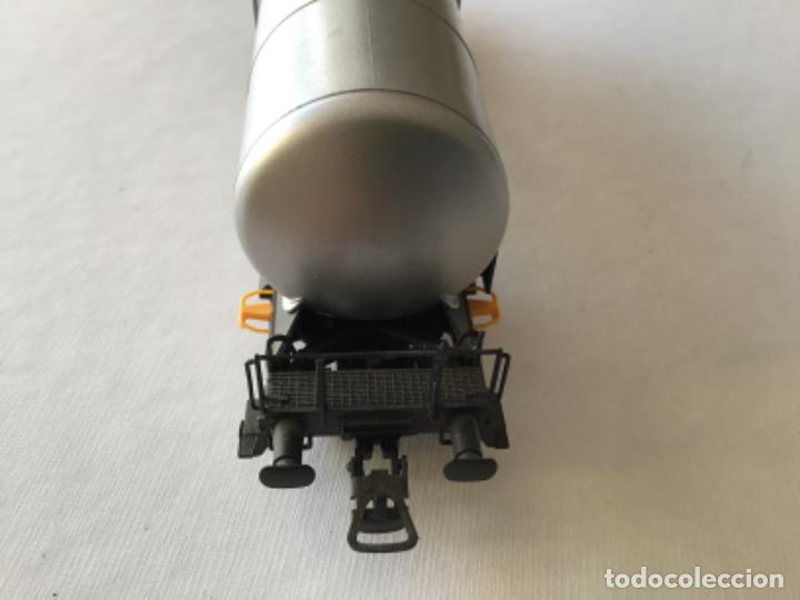 Trenes Escala: Electrotren H0. Vagón cisterna Transfesa. Nuevo - Foto 9 - 210517795