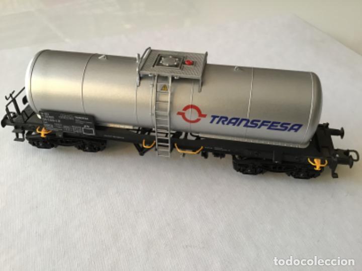 ELECTROTREN H0. VAGÓN CISTERNA TRANSFESA. NUEVO (Juguetes - Trenes Escala H0 - Electrotren)