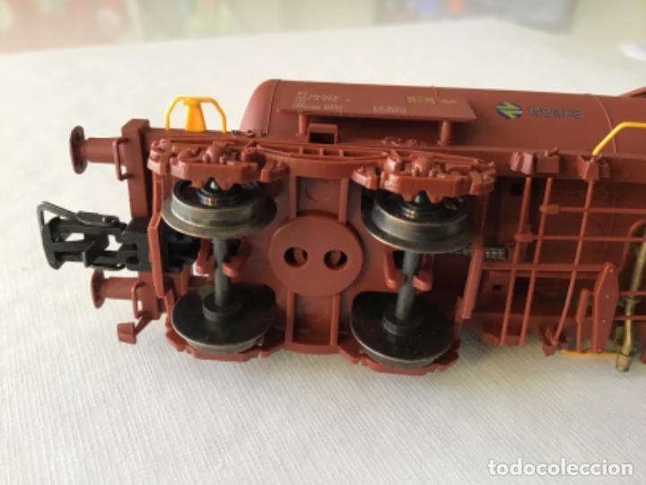 """Trenes Escala: Electrotren H0. Vagón cisterna """"Renfe RR"""" de vitrina - Foto 6 - 210518443"""
