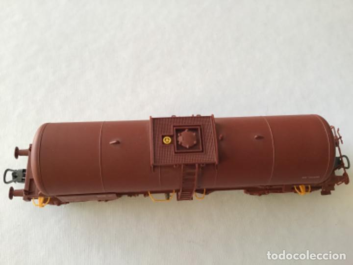 """Trenes Escala: Electrotren H0. Vagón cisterna """"Renfe RR"""" de vitrina - Foto 9 - 210518443"""