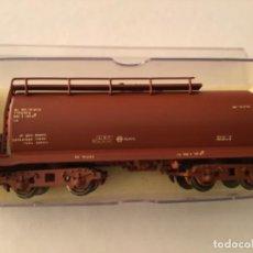 Trenes Escala: H0 ELECTROTREN VAGÓN CISTERNA RENFE RR PRECIOSO. Lote 210679796