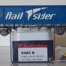 Comboios Escala: ELECTROTREN VAGON EALOS RENFE RAIL SIDER REF: 5383 ESCALA HO. Lote 210731882