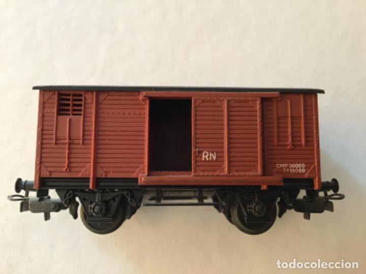 Trenes Escala: Electrotren H0 Vagón mercancías cerrado. Precioso - Foto 6 - 210767224