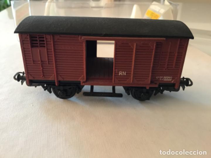Trenes Escala: Electrotren H0 Vagón mercancías cerrado. Precioso - Foto 9 - 210767224