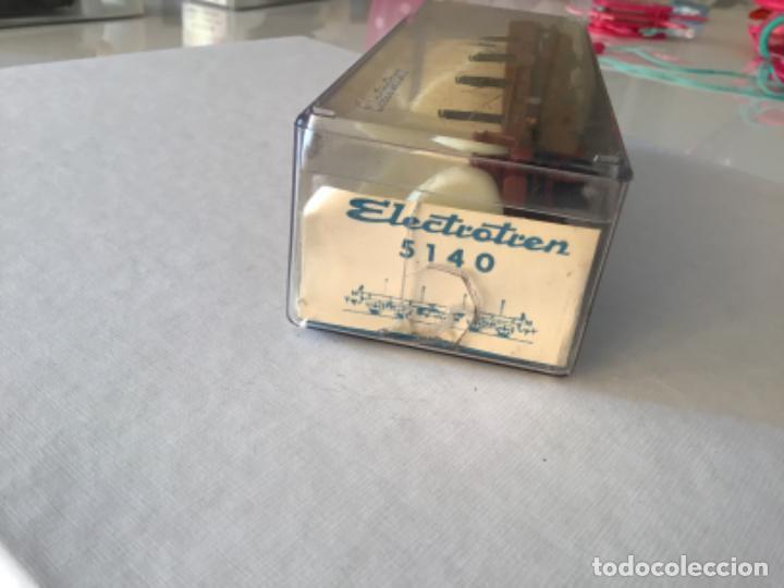 Trenes Escala: Electrotren H0 Vagón telero 4 ejes Ref. 5140. De vitrina. - Foto 9 - 210767804