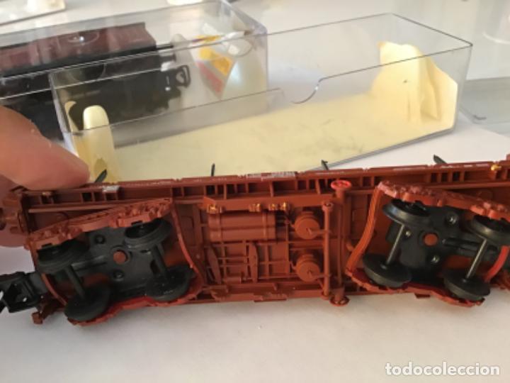 Trenes Escala: Electrotren H0 Vagón telero 4 ejes Ref. 5140. De vitrina. - Foto 10 - 210767804