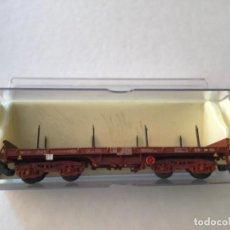 Trenes Escala: ELECTROTREN H0 VAGÓN TELERO 4 EJES REF. 5140. DE VITRINA.. Lote 210767804
